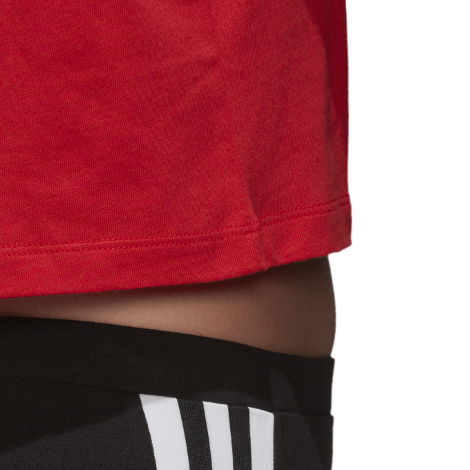 Damski Top Adidas czerwony