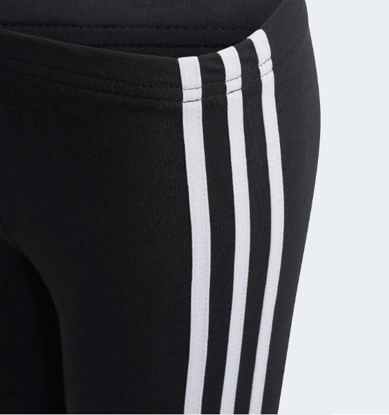 Legginsy dziewczęce Adidas Originals czarne