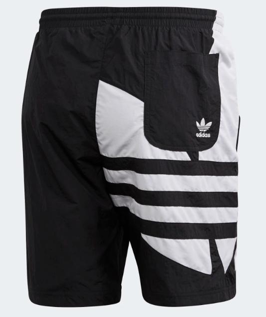 Męskie szorty Adidas czarne