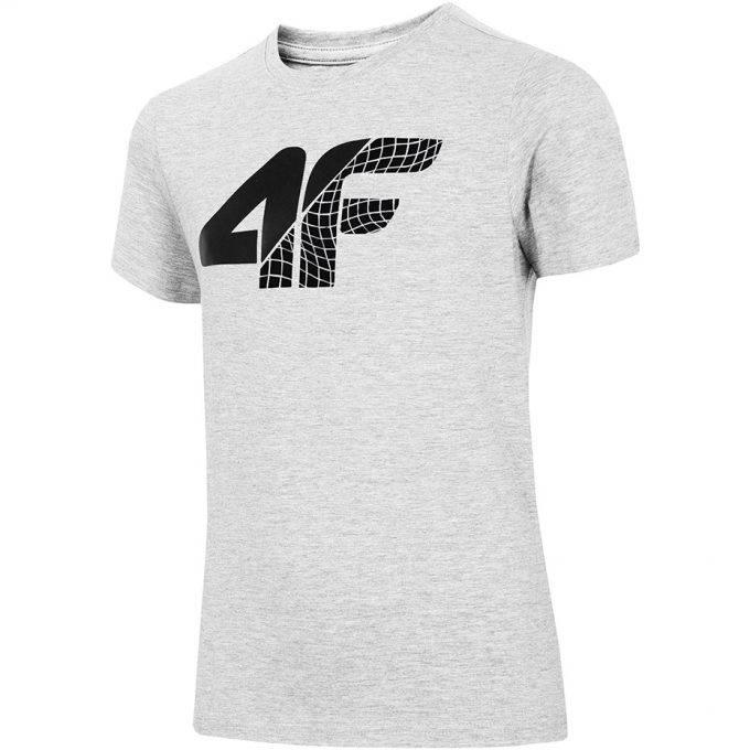 Koszulka dziecięca 4F HJL20-JTSM022B 25M