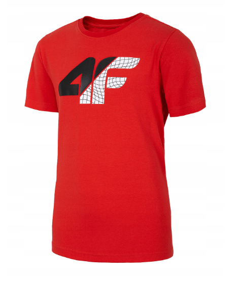 Koszulka dziecięca 4F HJL20-JTSM022 62S