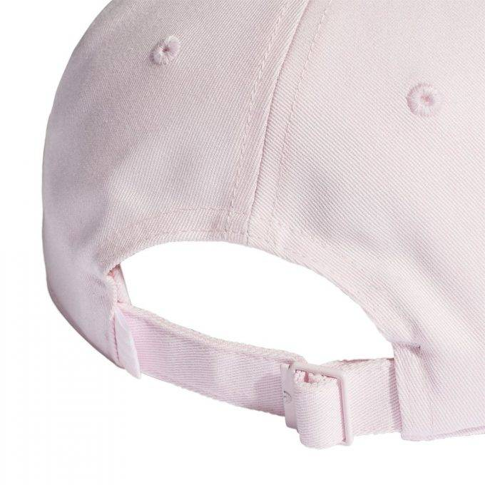 Damska czapka z daszkiem adidas pudrowy róż