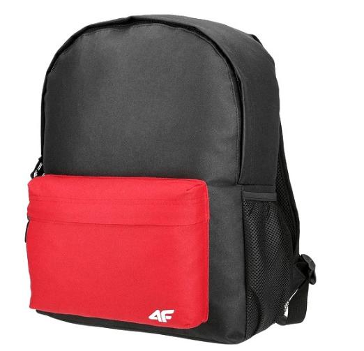 Plecak 4F czarno-czerwony