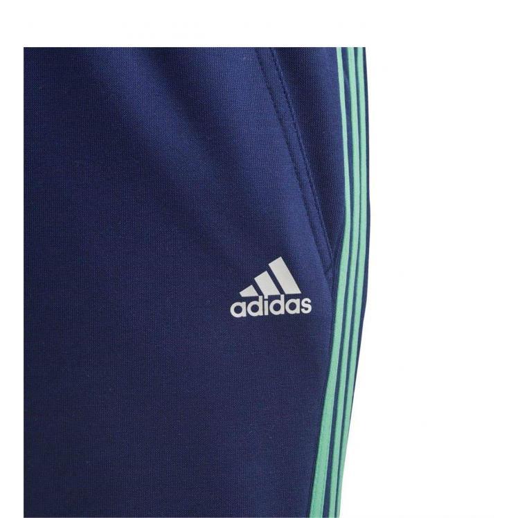 Juniorskie spodnie Adidas niebieskie