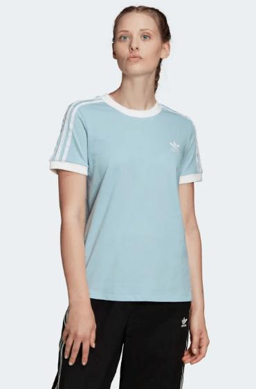 Damska Koszulka Adidas błękitna