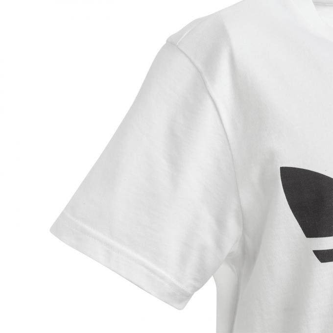 Juniorska koszulka Adidas biała