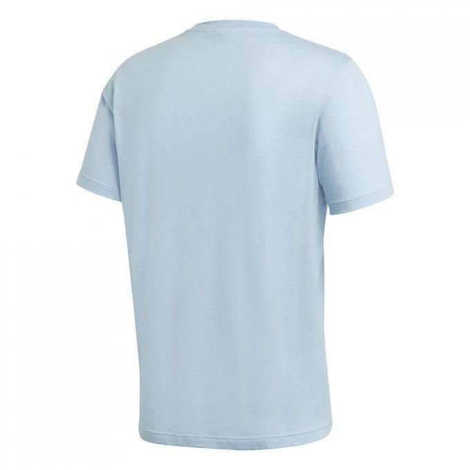 Męska koszulka Adidas błękitna