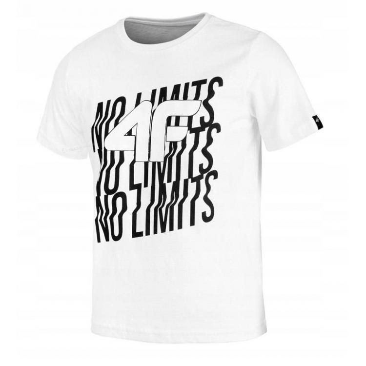 Koszulka dziecięca 4F HJL20-JTSM011 10S
