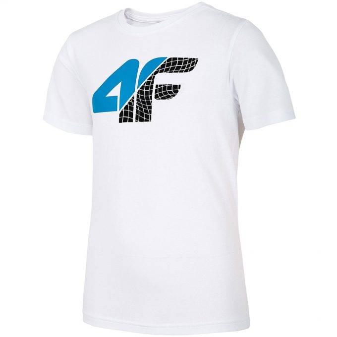 Koszulka dziecięca 4F HJL20-JTSM022D 10S