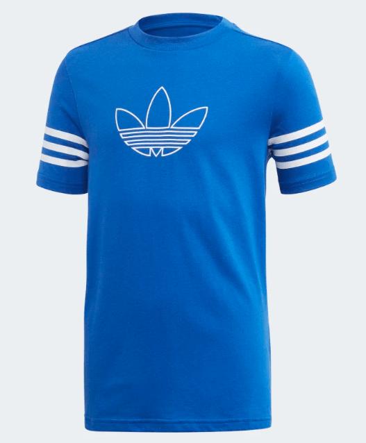 Dziecięca koszulka Adidas niebieska
