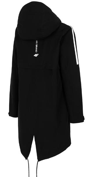 Damska kurtka przejściowa 4F H4L20-KUD003 20S czarna