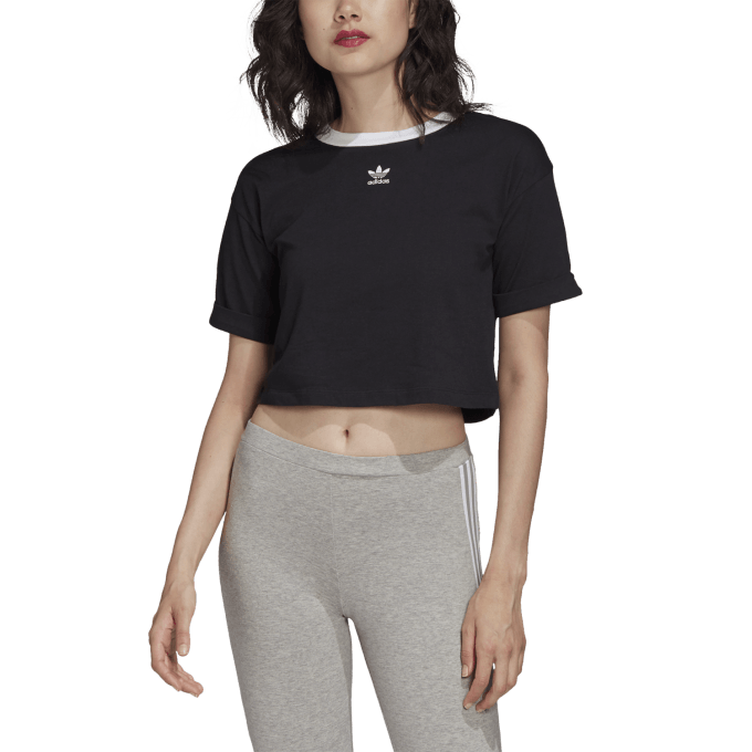 Damski Top Adidas czarny
