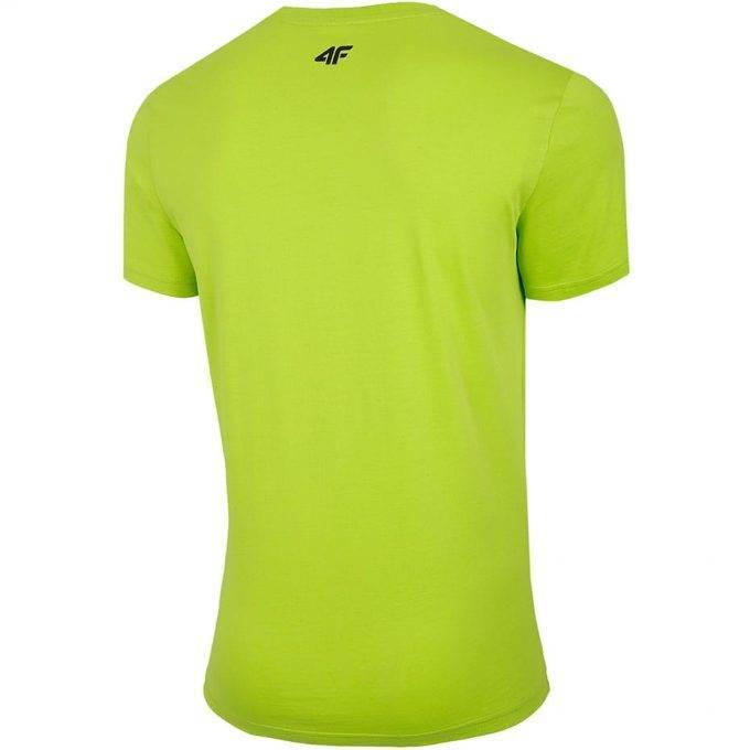 Męski T-Shirt 4F H4L20-TSM013 45S Zielony