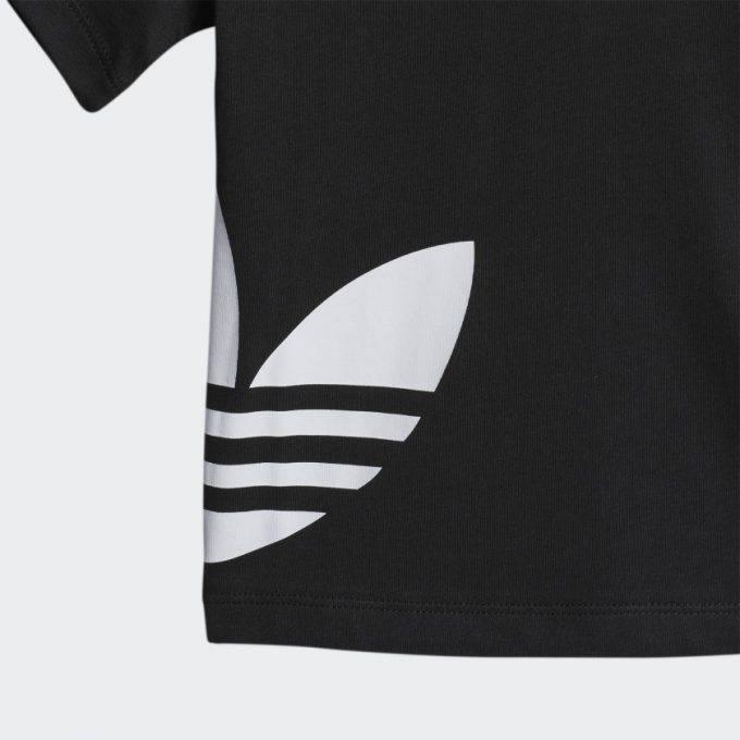 Juniorska koszulka Adidas czarna