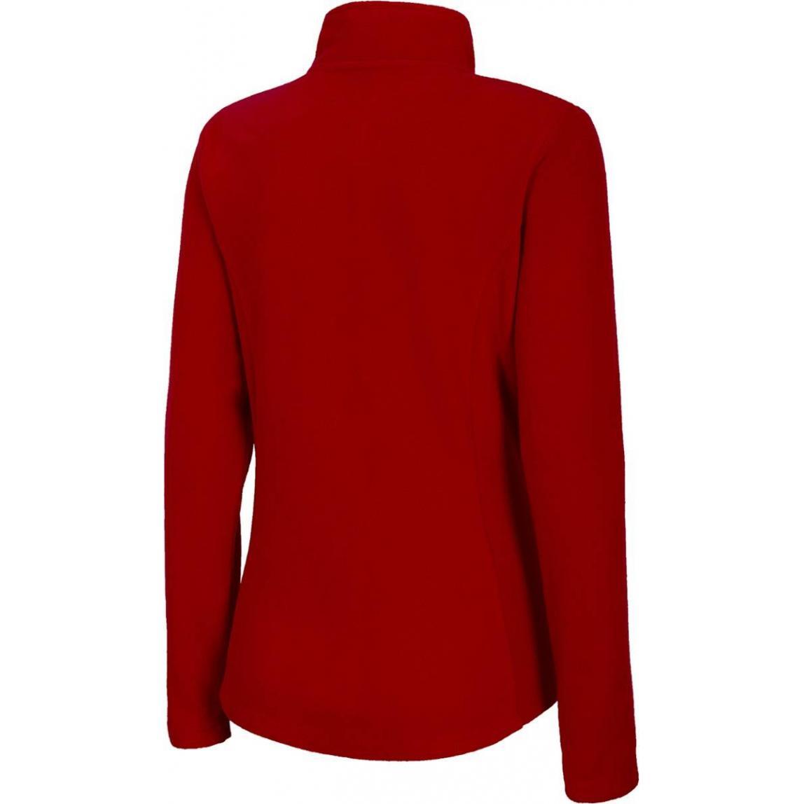 Damski polar 4F NOSH4-PLD001 62S Czerwony