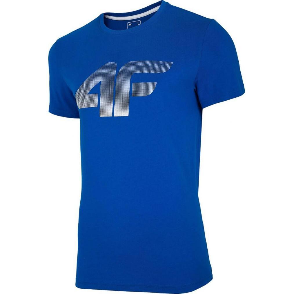 Męski T-Shirt 4F NOSH4-TSM004 36S Niebieski