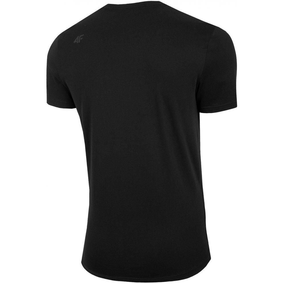 Męski T-Shirt 4F H4L20-TSM012 20S Czarny