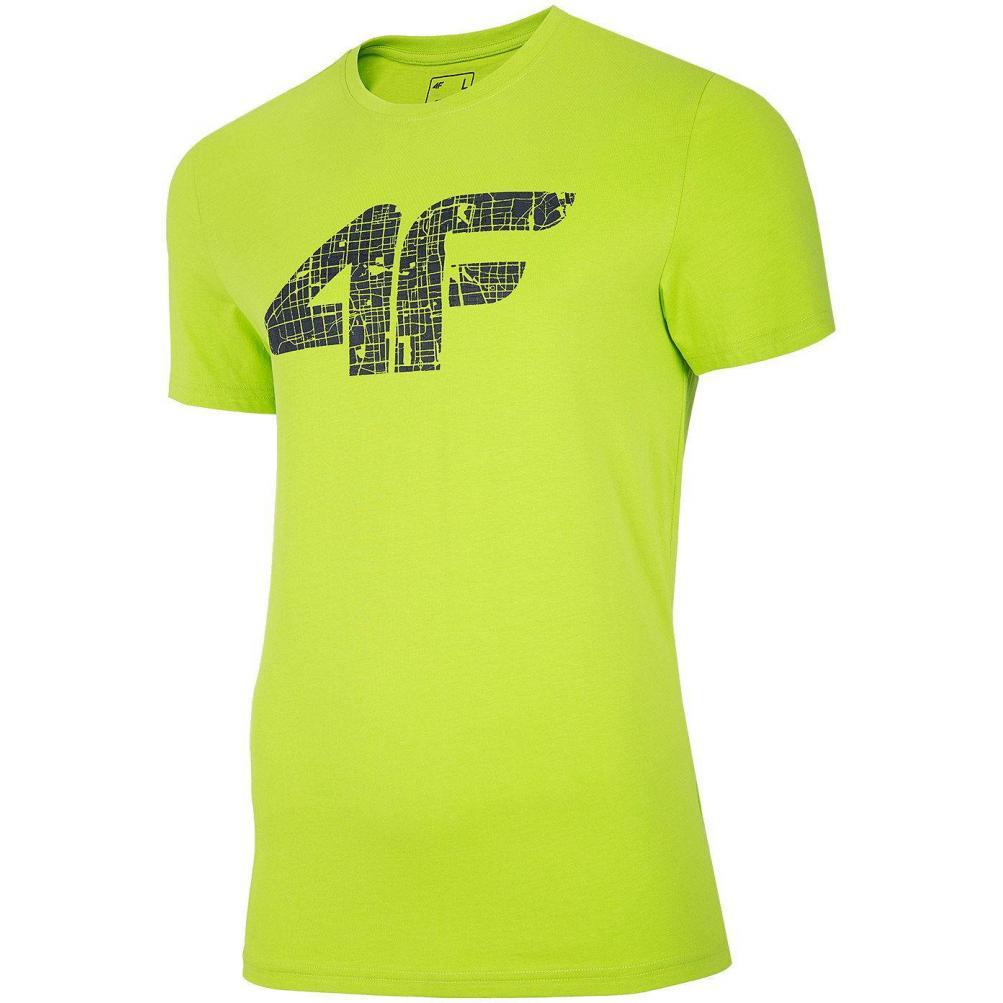 Męski T-Shirt 4F H4L20-TSM012 45S Zielony