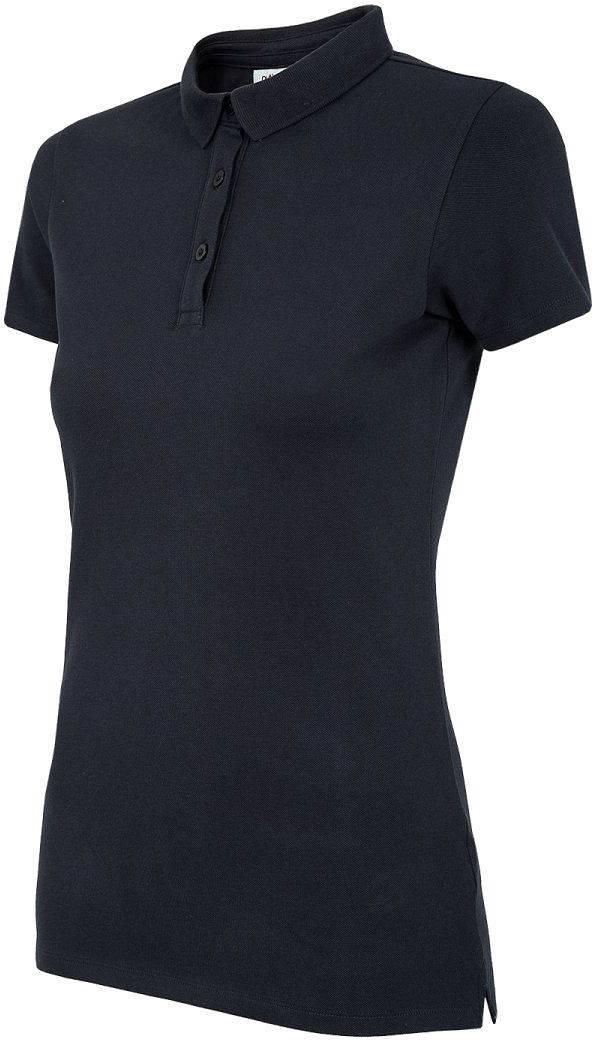 Koszulka polo damska OUTHORN ciemny granat