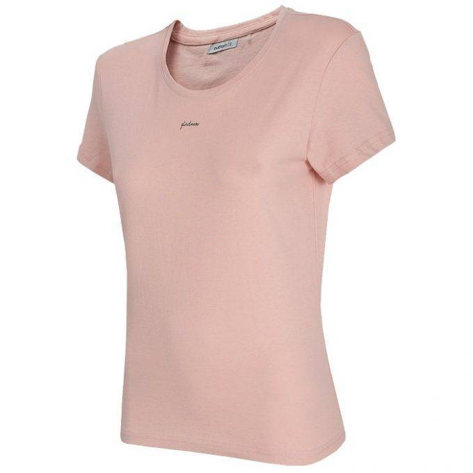 Damska koszulka OUTHORN HOL20-TSD629 65S pudrowy koral