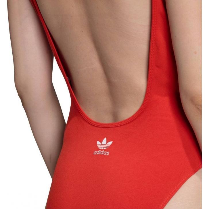 Damskie body adidas original czerwone