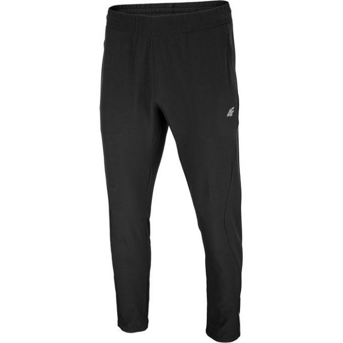 Męskie spodnie funkcyje  4F czarne