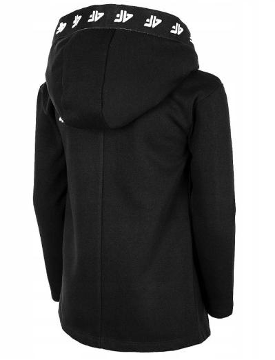 Dziewczęca bluza 4F HJL20-JBLD004A 21S czarna