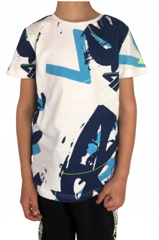 Juniorska koszulka 4F HJL20-JTSM009 90S