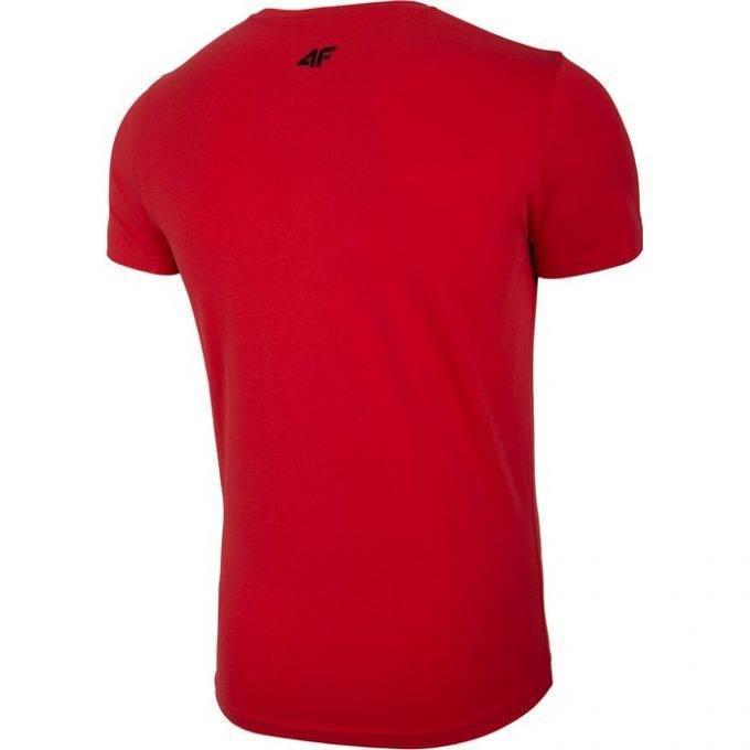 Męski T-Shirt 4F czerwony
