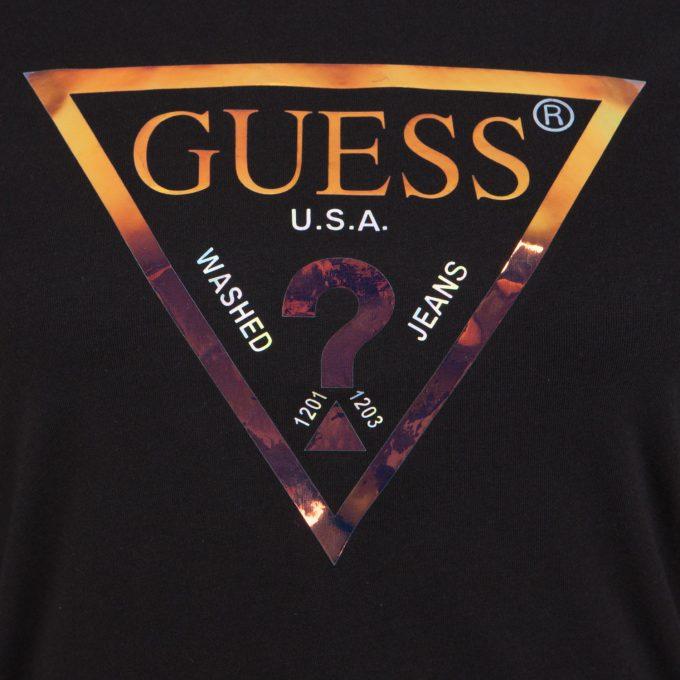 Damska bluzka GUESS W01I76K6YW0 – G720 granatowa