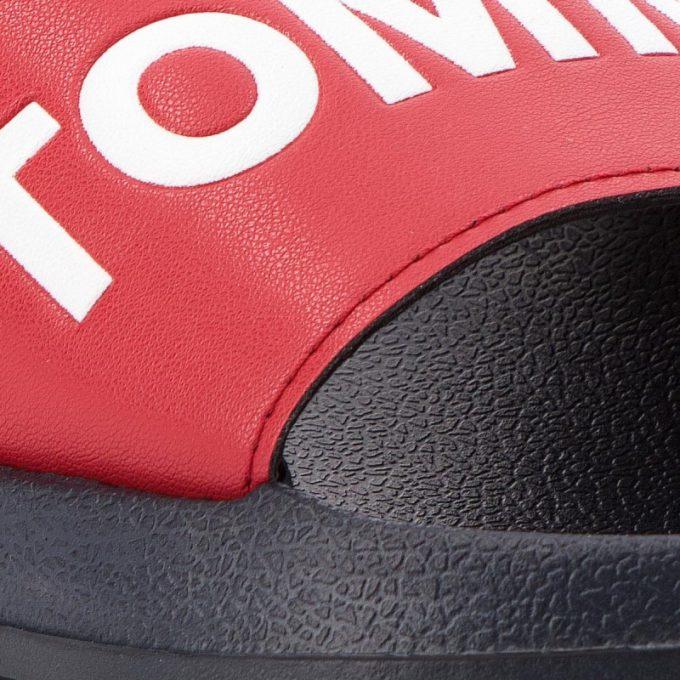 Klapki Tommy Hilfiger Slide Sandal EM0EM00105 Rwb 020