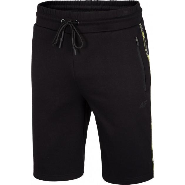 Męskie krótkie spodenki  4F H4L20-SKMD011 20S czarne