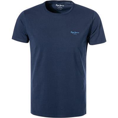 Męski T-shirt Pepe Jeans Granatowy PM503835 595