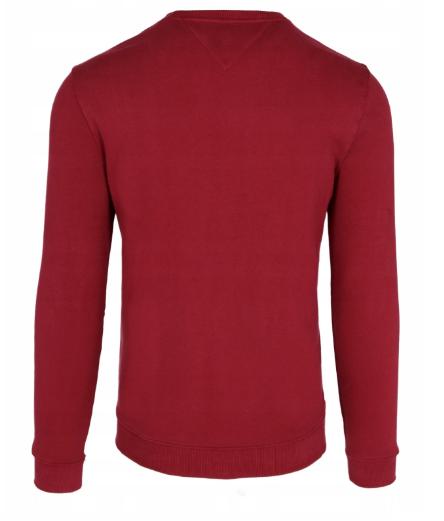 Bluza męska Tommy Jeans DM0DM07024 Burgund regular fit