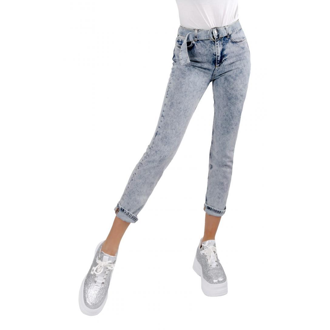 Damskie spodnie GUESS W02A30D3LD1 – CBOO