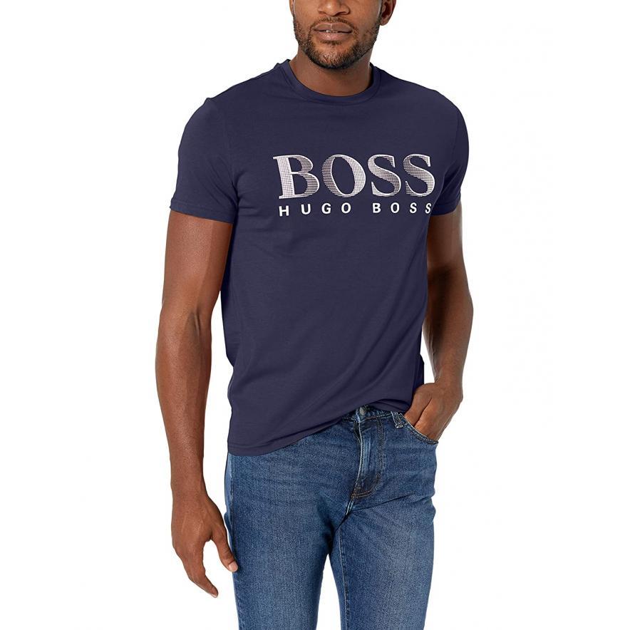 Koszulka HUGO BOSS 50407774 10217081 01 107 biały