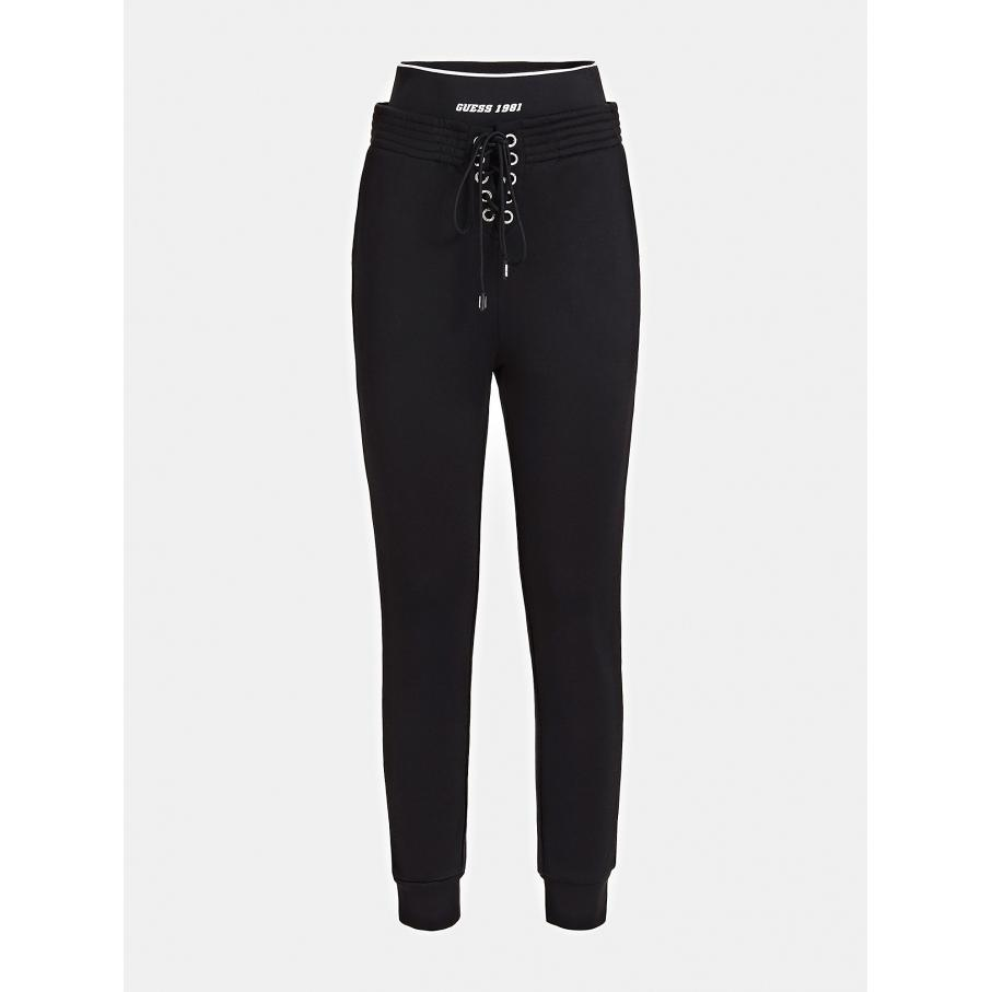 Damskie spodnie GUESS czarne