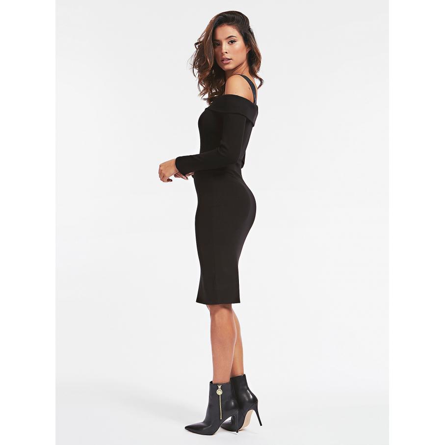 Sukienka damska GUESS czarna