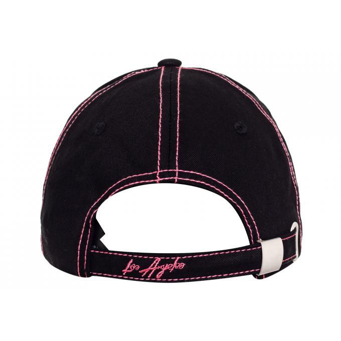 Damska czapka z daszkiem Guess czarna