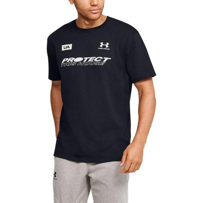 Męski T-shirt Under Armour czarny