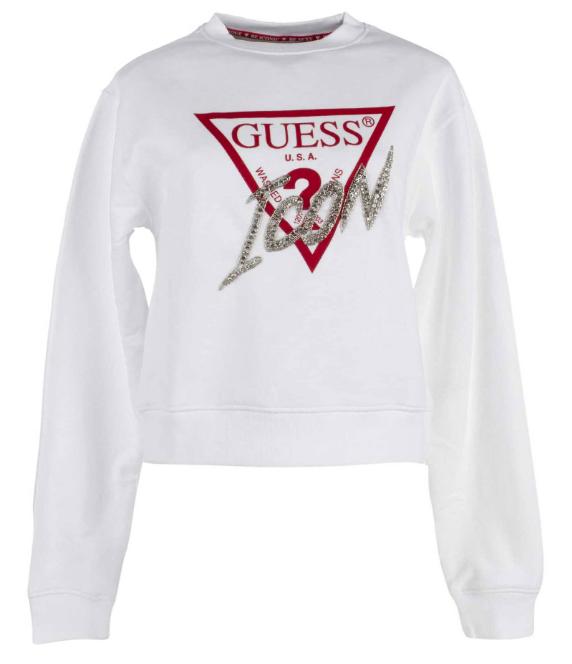 Damska bluza GUESS Icon biała