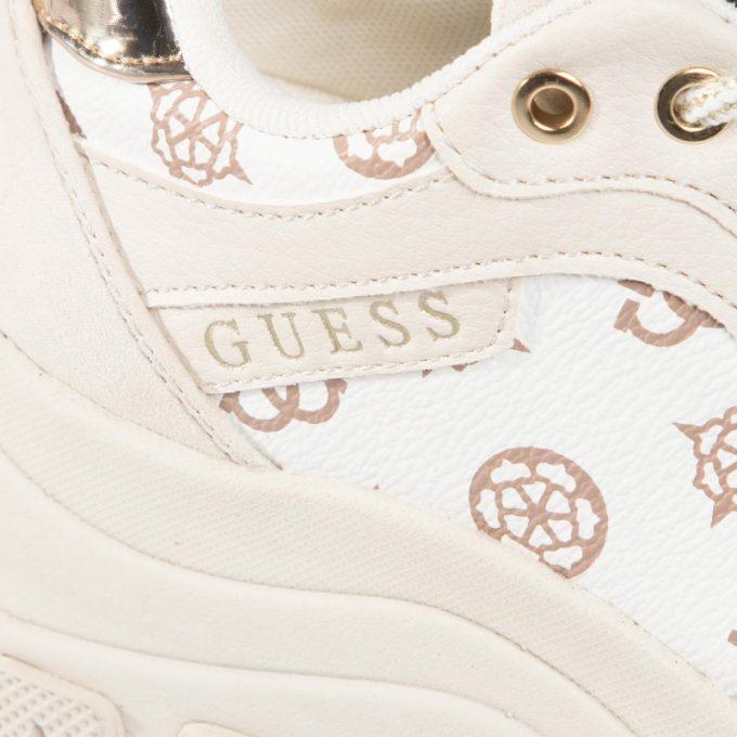 Sneakersy damskie GUESS beżowe