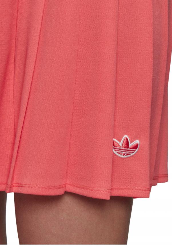 Damska spódniczka Adidas koralowa