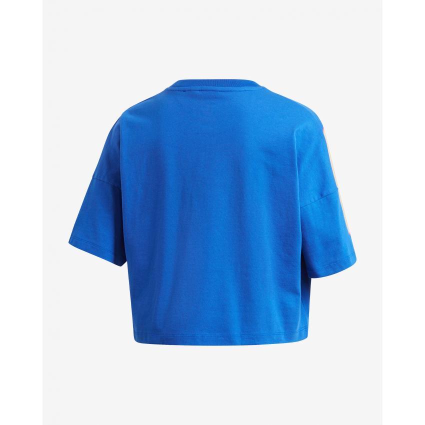 Damska koszulka Adidas niebieska