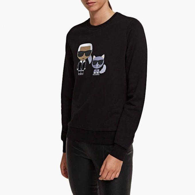 Damska bluza KARL LAGERFELD czarna
