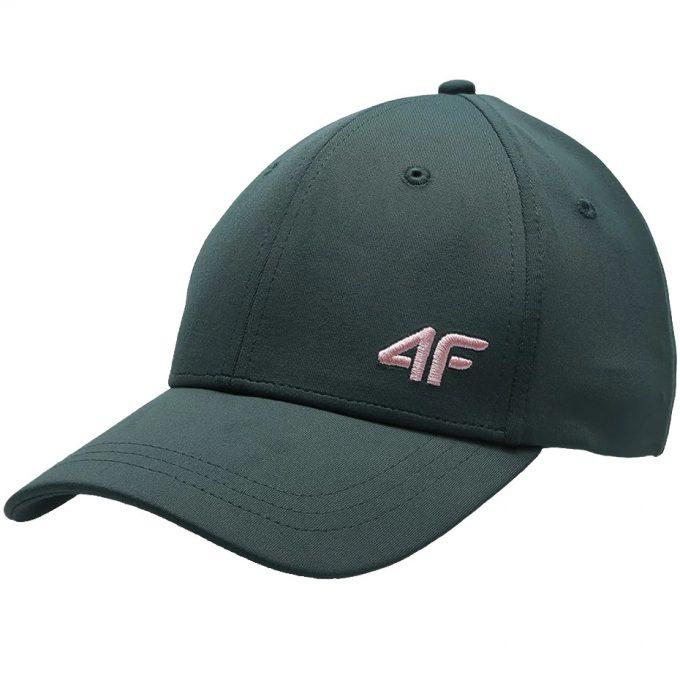 Czapka  4F z daszkiem zielona