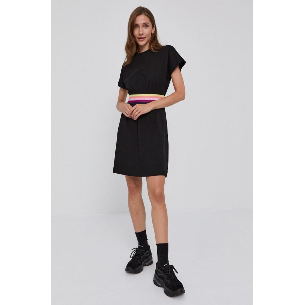 Sukienka damska KARL LAGERFELD czarna