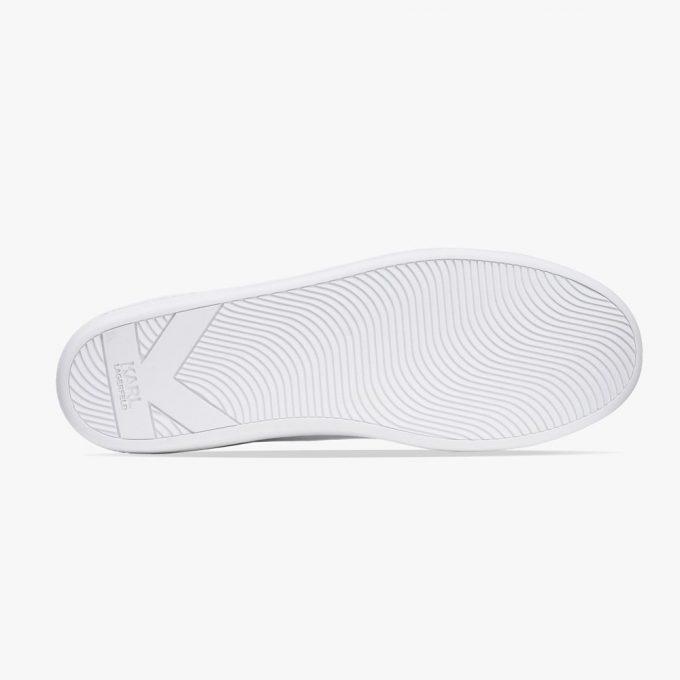 Sneakersy damskie Karl Lagerfeld BIAŁE